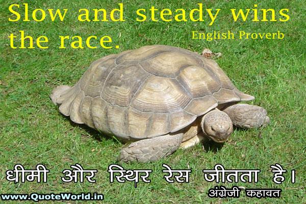 English Proverbs in English