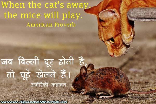 American Proverbs in English