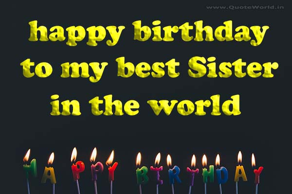 Awe Inspiring Best Birthday Wishes For Sister B With Pics Quotes Sms Personalised Birthday Cards Veneteletsinfo