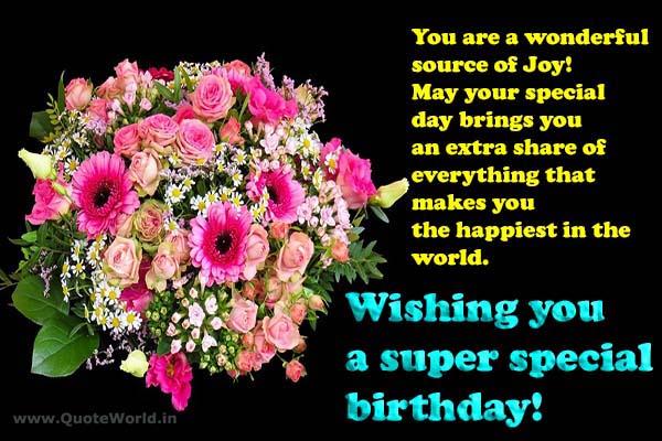 happy birthday friend in Hindi