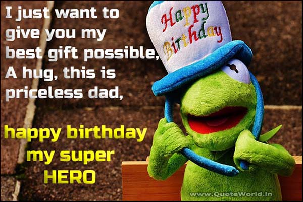 birthday wishes father with meme, pictures