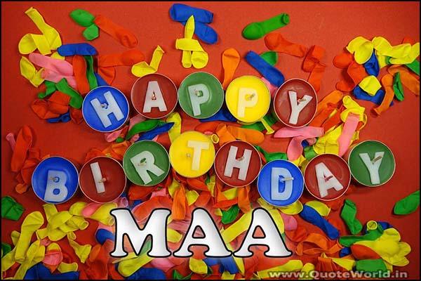 Happy birthday mother wishes