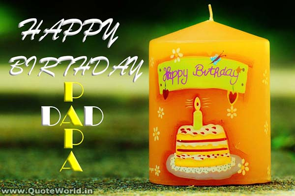 happy birthday father messages, SMS, status