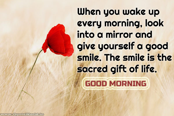 Positive Good Morning Wishes in English