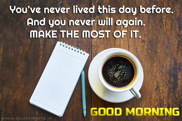 Optimistic Good Morning Wishes in English