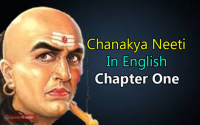 Chanakya Neeti In English - Chapter One