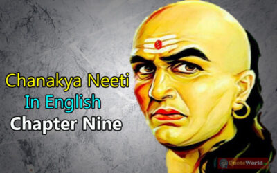 Chanakya Neeti In English – Chapter Nine
