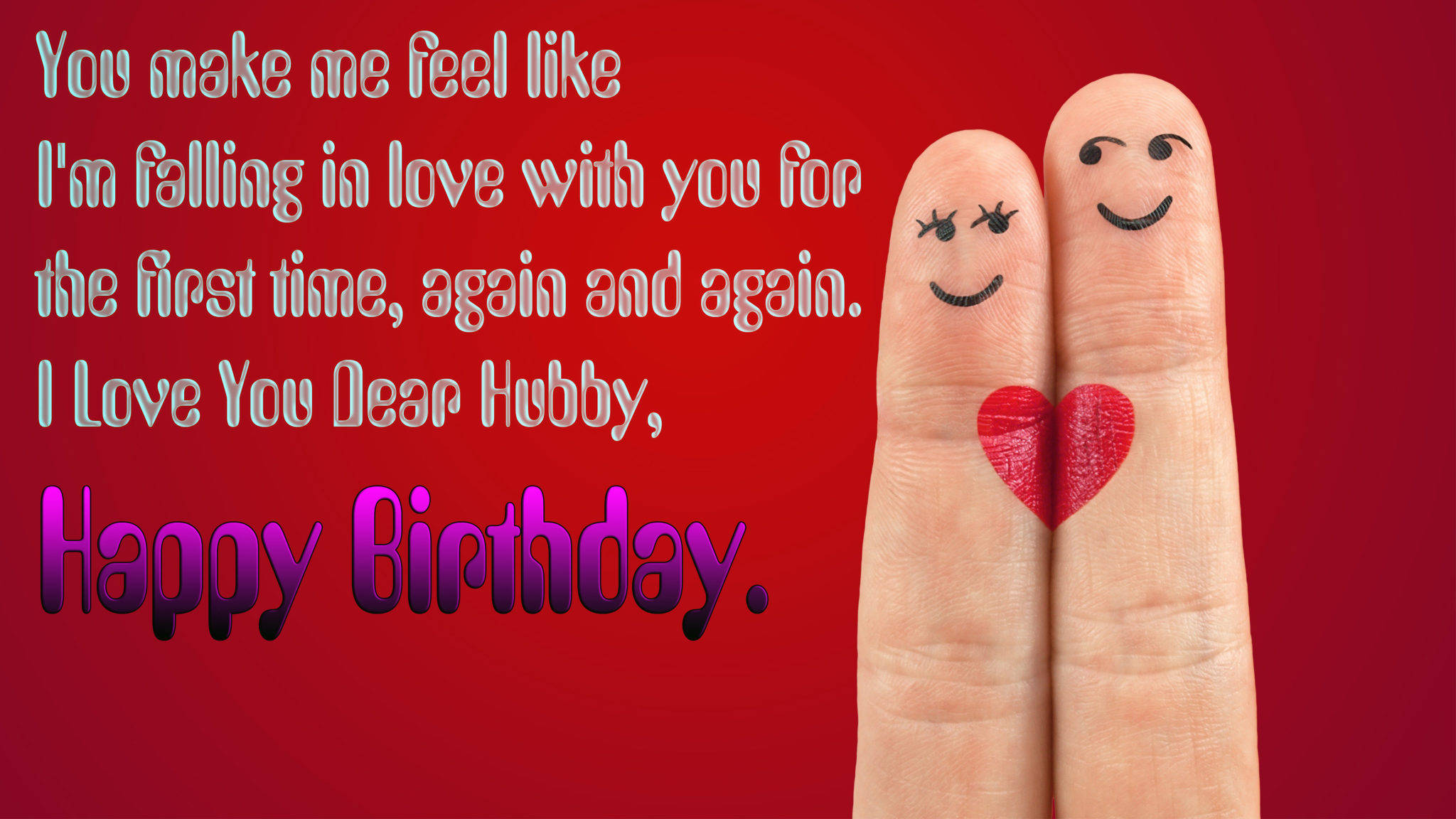 romantic birthday status for husband
