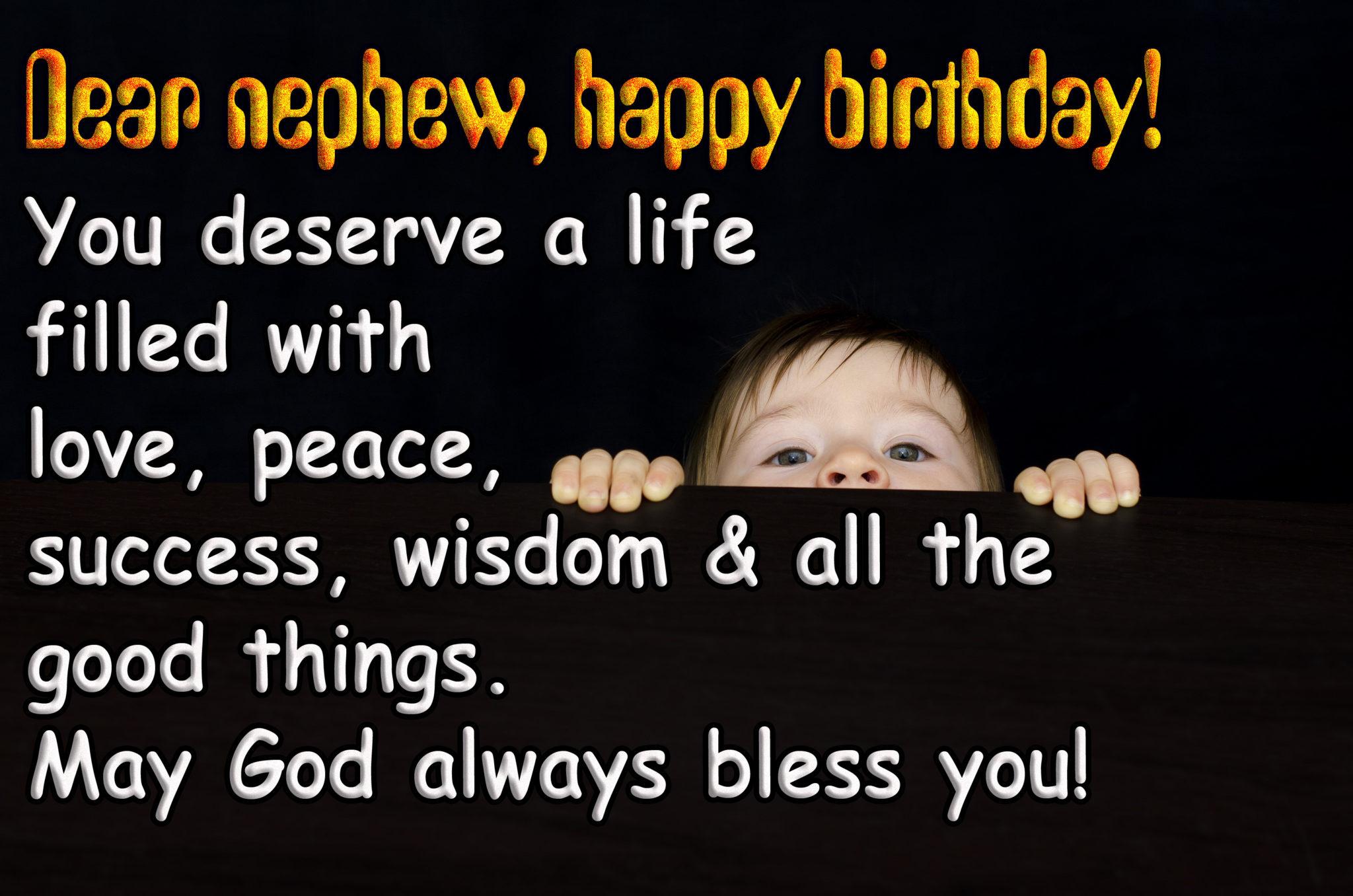 Best Birthday Wishes for NEPHEW (भतीजा)  Quotes, Status